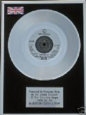 EVERTON  FOOTBALL TEAM - Platinum Disc 7inch - HERE WE GO